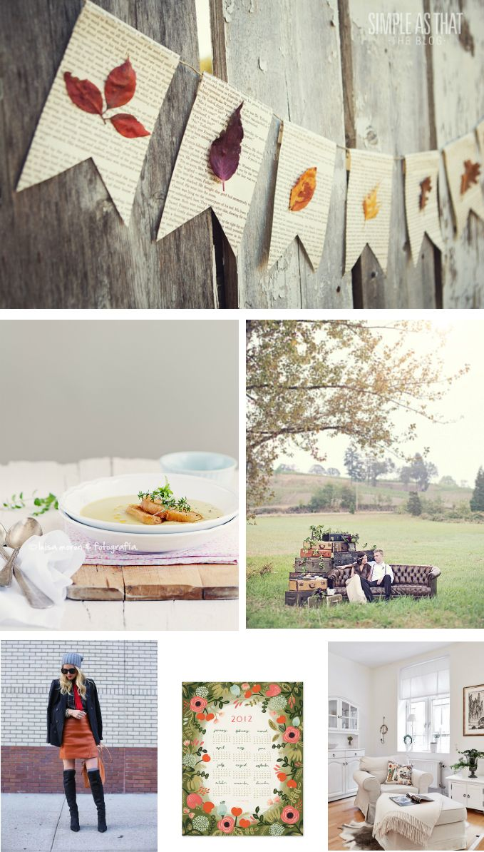 Imágenes inspiradoras para el otoño.