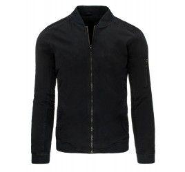 Pánská jarní bunda - Bratt, černá | TAXIDO fashion