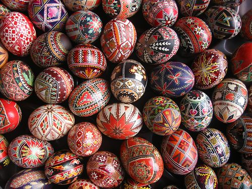 Pysanky Eggs | by Brussel Sprouts