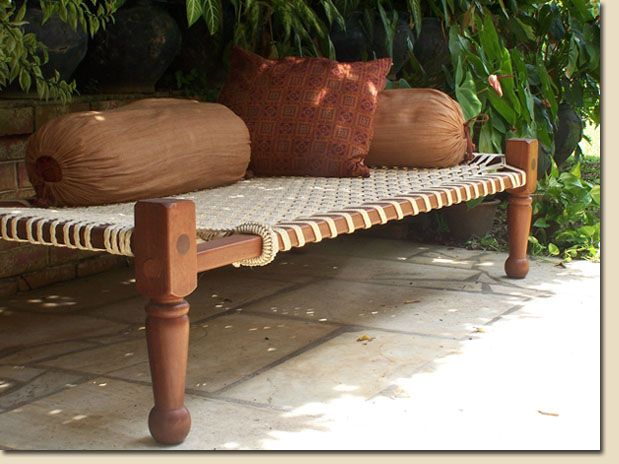 charpai...string bed
