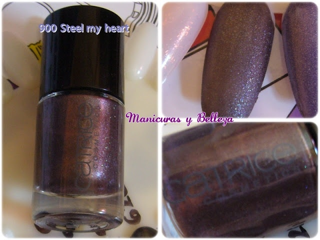 900 Steel my heart, Catrice swatches