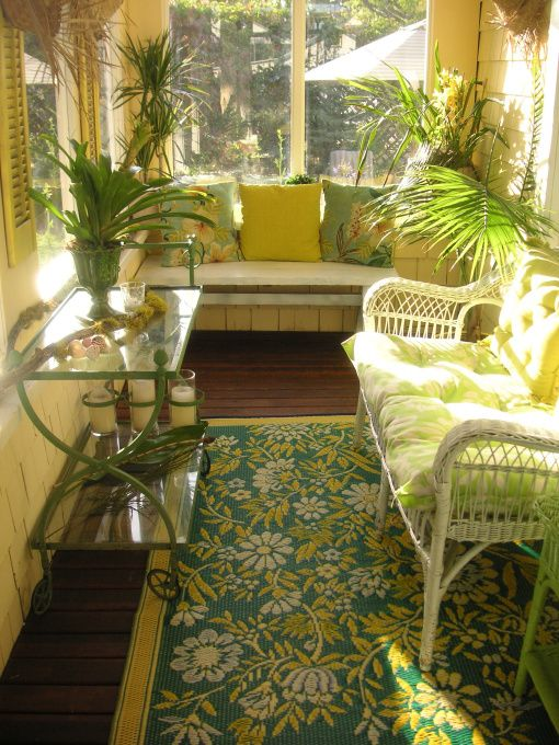 Charmant Key West Decorating Ideas | Key West Inspired Porch   Porche Designs   Decorating  Ideas