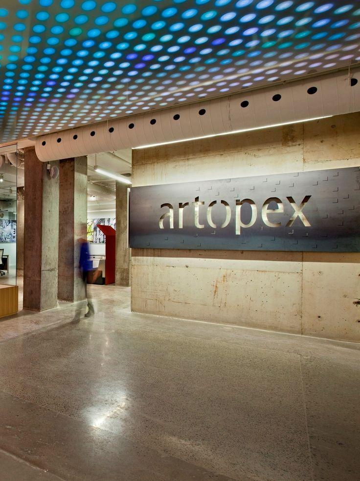 Lighting Up Artopex's New Showroom