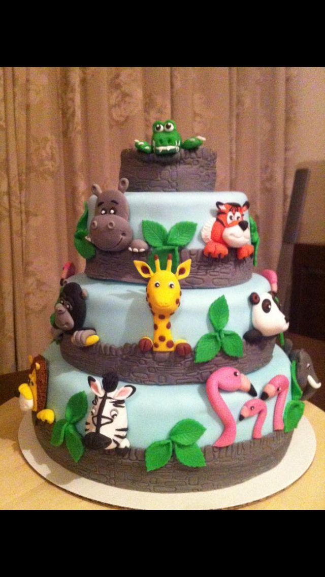 Dierentuin cake