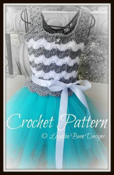 Crochet and tulle tutu dress | Craftsy