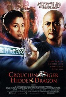 Crouching Tiger, Hidden Dragon   is a 2000 wuxia film. An American-Chinese-Hong Kong-Taiwanese co-production, the film was directed by Ang Lee and featured an international cast of ethnic Chinese actors, including Chow Yun-Fat, Michelle Yeoh, Zhang Ziyi, and Chang Chen.