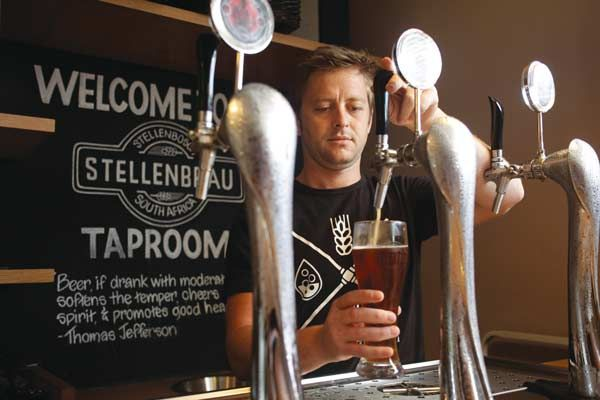 Brewery tour at Stellenbrau