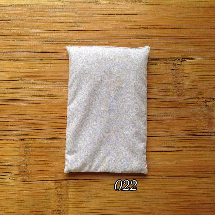 Almofadas térmicas (frio e quente) de sementes e alfazema.