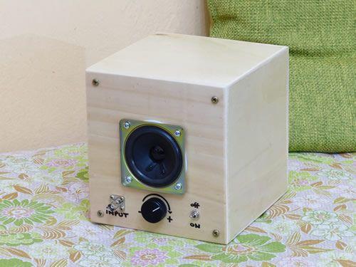Amplificatore audio per laboratorio elettronico