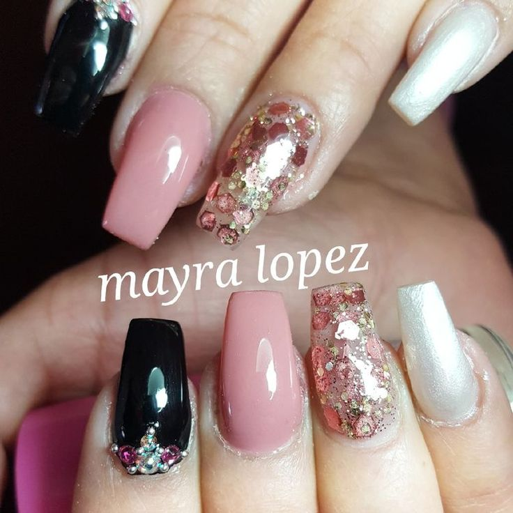 Nails The Newest Coffin Nail Designs Are So Perfect For Winter 2018