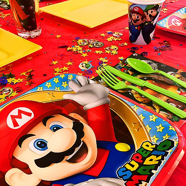 Bien connu Les 10 meilleures images du tableau Mario Gaming Party Kit sur  HB35