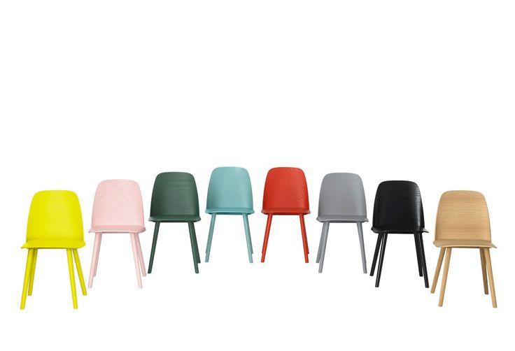 Chaise Nerd Geckeler, David : Années 50 design Muuto - Design Ikonik