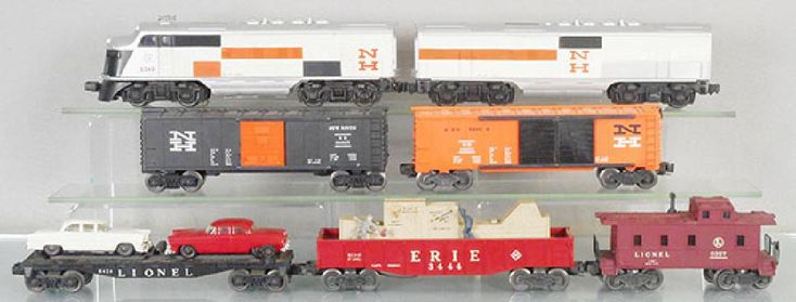 LIONEL TOY TRAIN LOCOMOTIVE IDENTIFICATION GUIDE