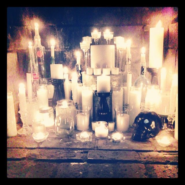 Candles In A Fireplace Pictures: Best 25+ Candle Fireplace Ideas On Pinterest