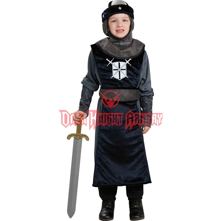Boys Round Table Knight Costume - FM-63592 from Dark Knight Armoury