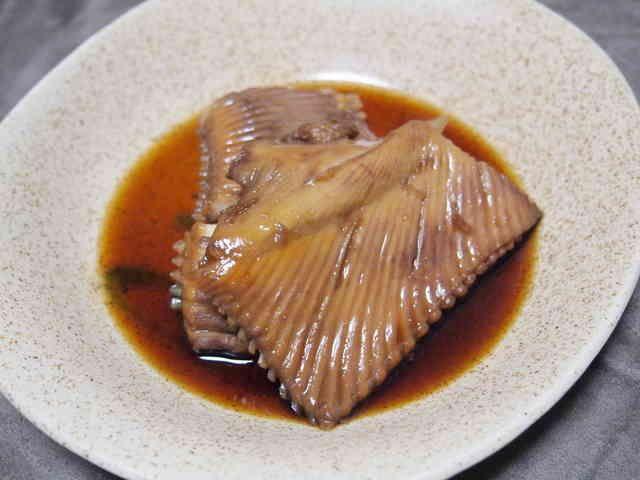 北海道の家庭から*かすべの煮付けの画像