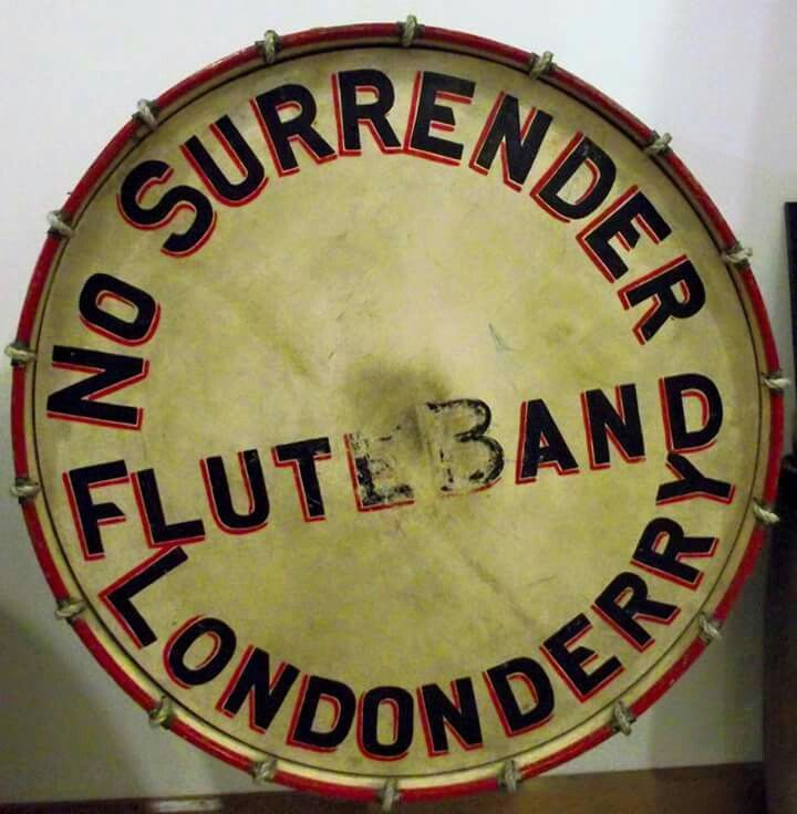 No Surrender Flute Band Londonderry