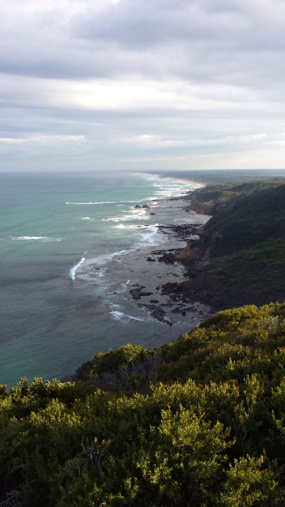 Mornington Peninsula, from Cape Schanck looking towards Rye