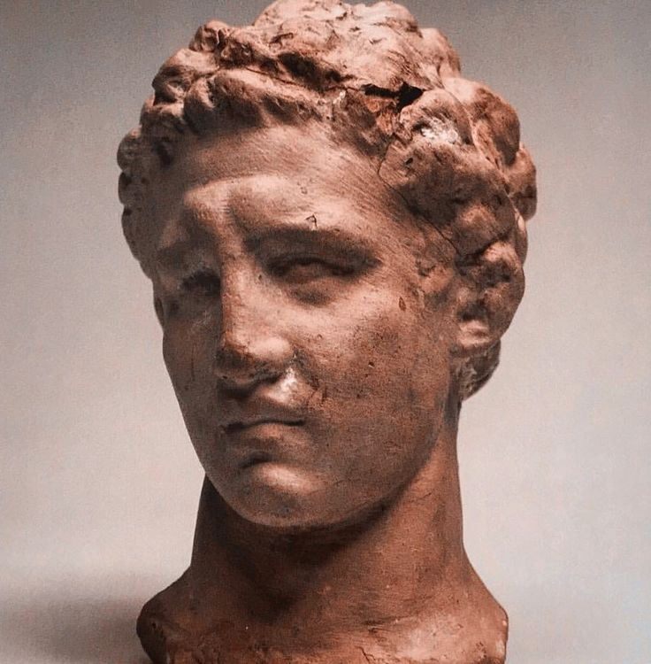 Head of a youth (fragment of a statuette). Asia Minor, Smyrna, 2nd century BC. The Immortal Alexander The Great, Hermitage Amsterdam 2010.