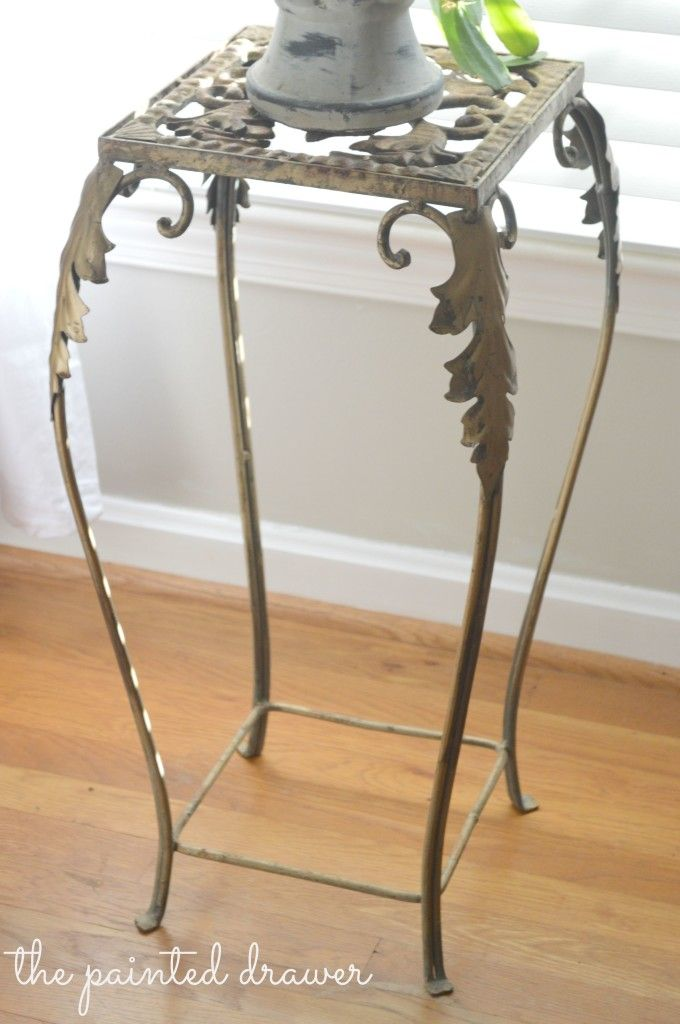French Plant Stand www.thepainteddrawer.com | French Style