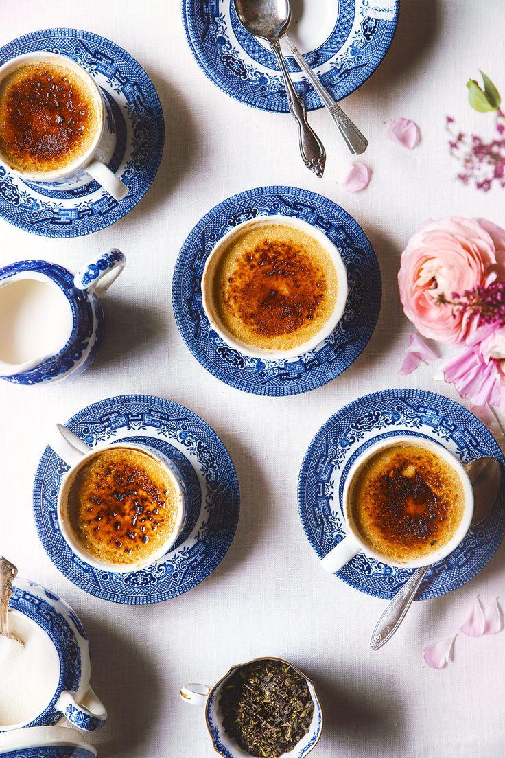Oolong Crème Brûlée recipe by @honestlyyum