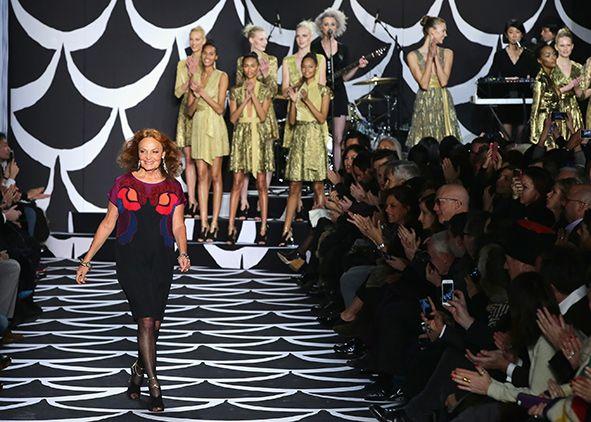 diane von furstenberg runway diane von furstenberg show new york fashion week getty