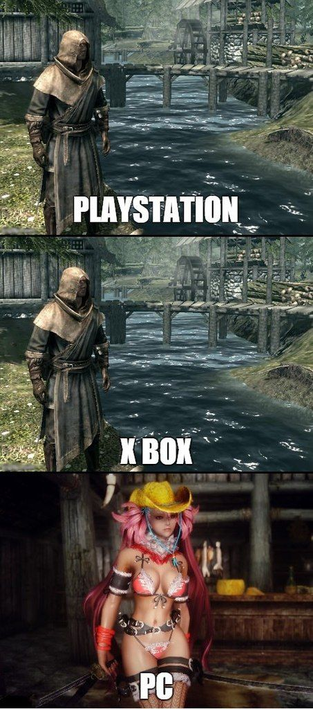 That's Skyrim for ya...