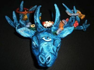 Rotten Dollies - Mastodon sculpture