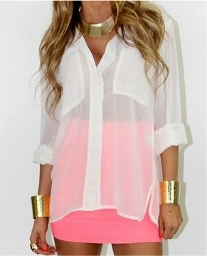 highwaisted mini skirt from sophieandtrey, but with the shirt tucked omg that would be perfect