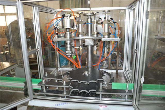 Wuhan insect aerosol spray filling machine     More: https://www.aerosolmachinery.com/sale/wuhan-insect-aerosol-spray-filling-machine.html