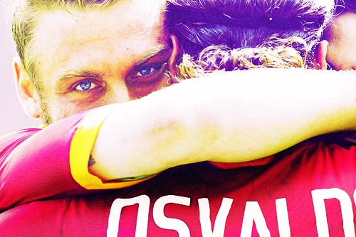 Daniele De Rossi & Pablo Osvaldo, AS Roma.