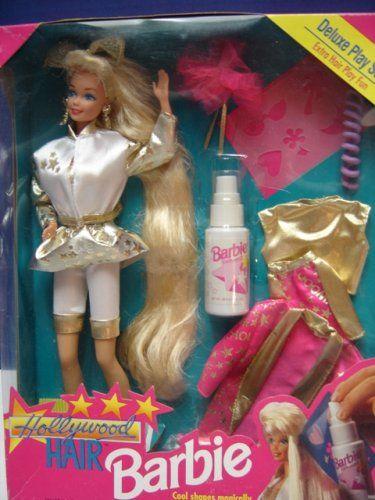 Barbie Hollywood Hair Deluxe Playset