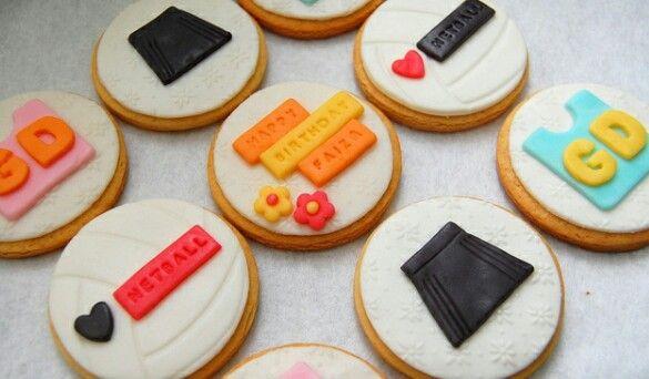 Netball cookie ideas