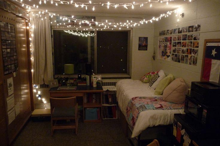 Dorm Room Livin Syracuse University Lights And Things
