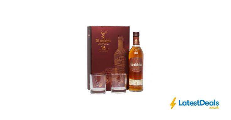 Glenfiddich 15 Year Old Speyside Single Malt Scotch Whisky - 2 Glasses Gift Pack, £34.90 at Thewhiskyworld
