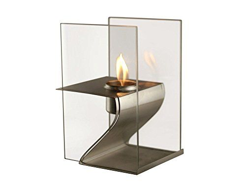 Fire Desire's Future Z Fireplace - Unique Futuristic Z Shape Design, Perfect for Table Top Display, Both Indoor and Outdoor Use, Great for Decoration, Cozy Atmosphere, German Design, Can Put Anywhere, Table Top, Easy to Set Up, Portable, Reusable Fireplace