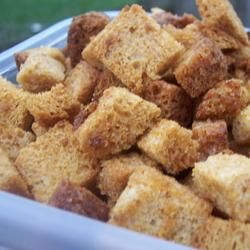 how to make bread croutons for soup