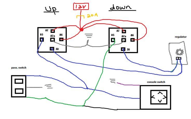 Bosch Relay Schematic