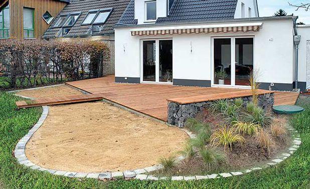 Gabionenbank bauen Schritt 10 von 10  Garten  Pinterest  Garten