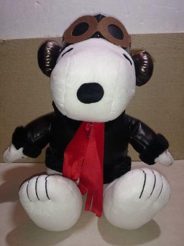 Snoopy,peanuts,peluche Original,aviador,piloto 40 Cm Pelicul - $ 430.00 en MercadoLibre