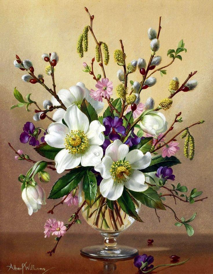 12 flower paintings - 12 virág festmény - Megaport Media