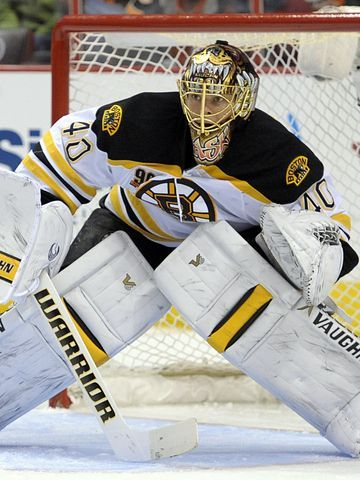 Boston Bruins goalie Tuukka Rask was voted No. 1 in his category.