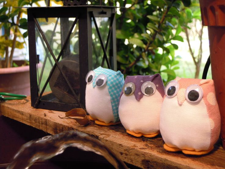 Diy cute owls - really simple