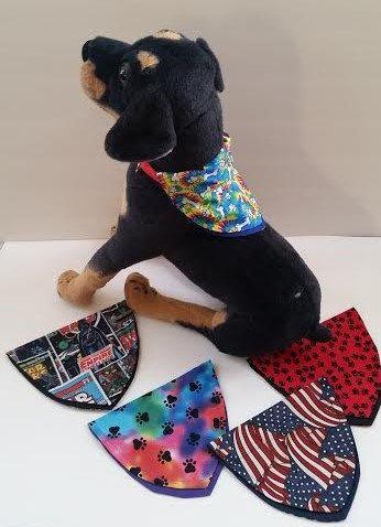 Small Dog Scarf by GmasOrganicOriginals on Etsy