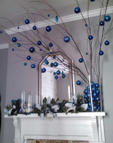 Trop facile de fabriquer sa déco de Noël ! Décorer les fenêtres, l'entrée, la cheminée... de guirlandes lumineuses, bougies, vases, branchages, de boules en rouge et blanc ou noir et doré... Déco Cool vous donne des idées à faire pour une déco de la maison féerique à Noël.Rédigé le 8/12/2015 Bi