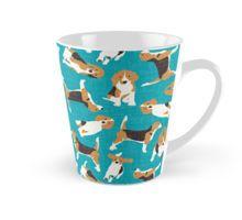 beagle scatter blue Tall Mug