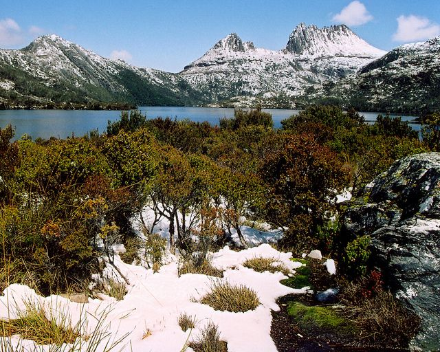 Cradle Mountain, Tasmania, Australia - I did the Overland Track in late winter - wet, snowy, cold and wonderful.