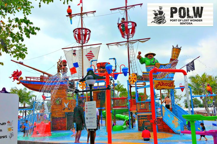 Port of the Lost Wonder   Things to Do in Singapore with Kids   Port of the Lost Wonder is an attraction dedicated to families with young children. This Sentosa attraction lies right by the beach, features a whole host of play areas, themed slides and climbing frames, as well as plenty of restaurants and retail options to keep the adults happy. Port of the Lost Wonder organises games and activities throughout the day, both fun and educational for the kids.