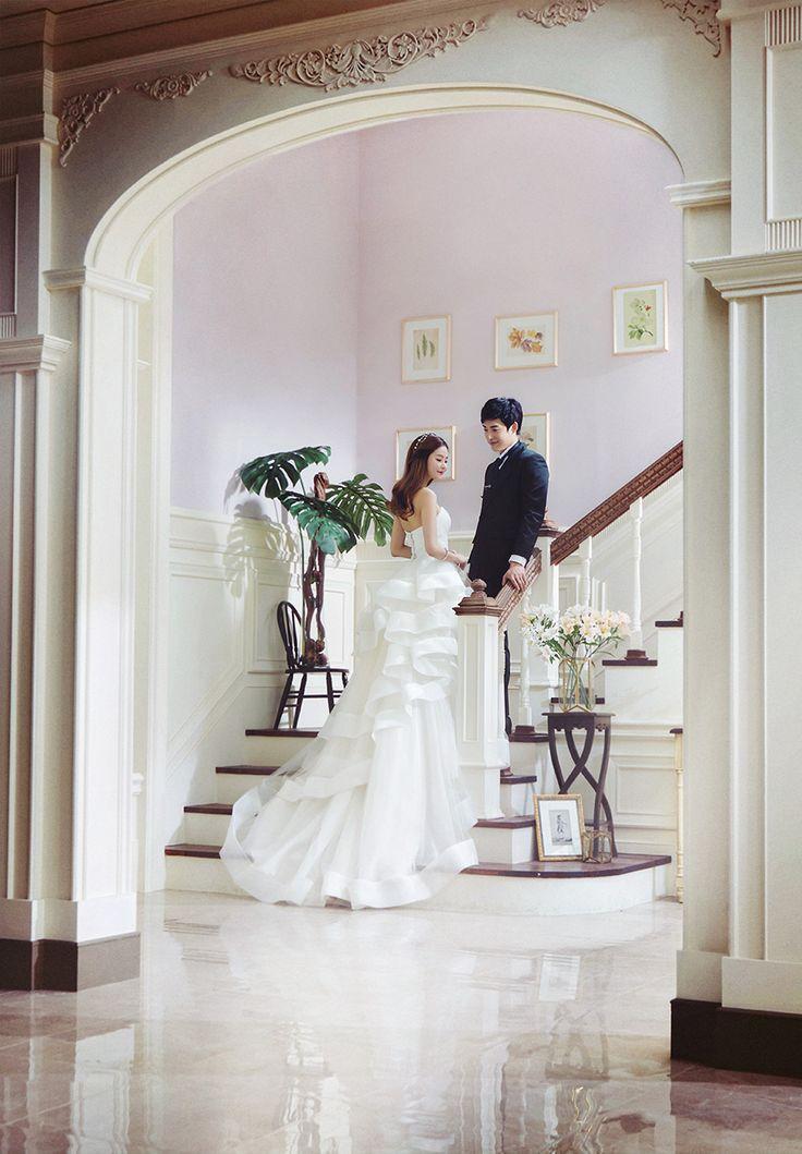 Korean Studio Pre-Wedding Photography: 2016 Romantic Vintage Collection  by Bong Studio on OneThreeOneFour 15