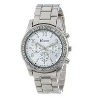 Watch-Discounter - Roos Dames horloge met Strass Steentjes